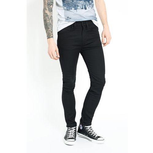 Levi's - Jeansy Line 8 519 Extreme Skinny Black, 1 rozmiar