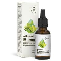 Krople Witamina E Forte 180 porcji 30 ml AURA HERBALS