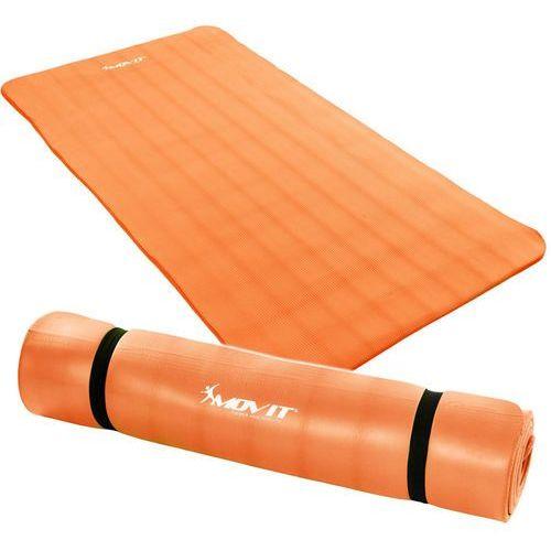 Movit ® Pomarańczowa mata piankowa 190x100x1,5cm do ćwiczeń / fitness (4048821636615)