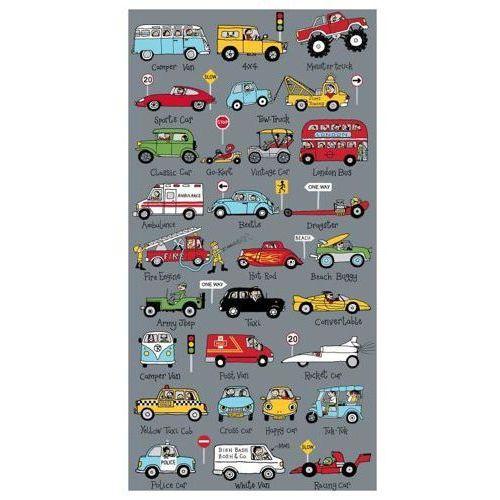 Ręcznik - auta 70 x 140 cm Tyrrell katz