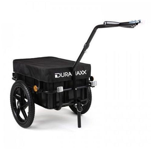 Duramaxx przyczepka rowerowa big black mike wysoki dyszel 70 (4260365794815)