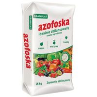 Nawóz uniwersalny azofoska : pojemność - 25 kg marki Florovit