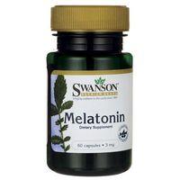 Swanson Melatonina 3mg 60 kaps