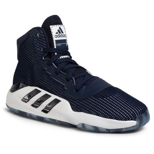 Buty adidas - Pro Bounce 2019 EF9834 Collegiate Navy/Cloud White/Cloud White, kolor niebieski
