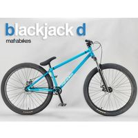 Rower Street wheelie Mafiabikes Blackjack Medusa Tillet Red 2019