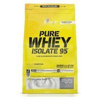 Olimp Sport Pure Whey Isolate 95 - Masło orzechowe, 600 g - Masło orzechowe