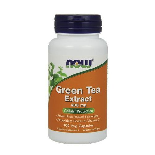 Kapsułki Now Foods Green Tea Extract 400mg 100 kaps