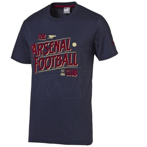 Koszulka Puma Arsenal Football Club Graphic Fan Tee Junior