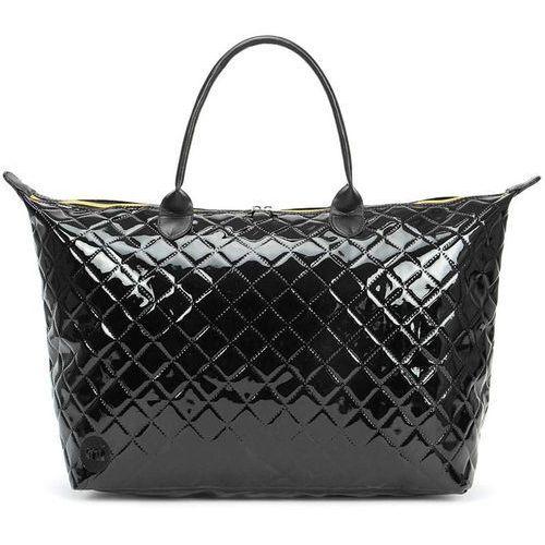 Torebka - weekender patent quilt-black (s46) rozmiar: os marki Mi-pac