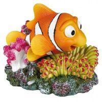 Trixie dekoracja rybka błazenek na koralu 12 x 10 cm - darmowa dostawa od 95 zł!