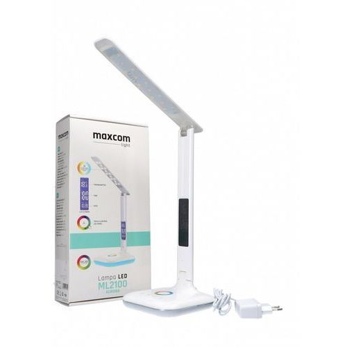 Maxcom Lampa biurkowa ml2100 aurora biały darmowy transport (5908235975610)