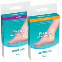 Synoptis pharma Apteo care plastry na pęcherze 20mm x 60mm x 6 sztuk