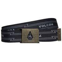 pasek VOLCOM - Stone Cut Web Belt Black (BLK)