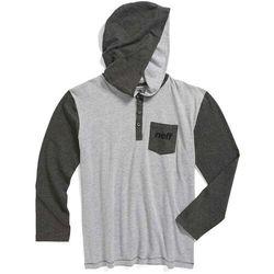 Neff Koszulka - binary youth premium (grey) rozmiar: l