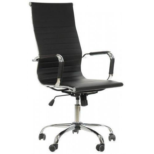 Stema - ne Fotel obrotowy ne-632h czarny - biurowy, gabinetowy - krzesło obrotowe
