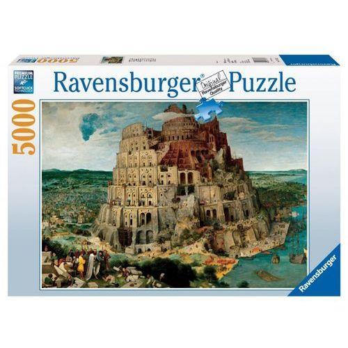 Ravensburger Raven puzzle bruegel, wieża babel