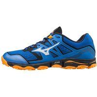 Mizuno Wave Hayate 6 Buty Mężczyźni, patroit blue/lunarrock/flame orange UK 11,5 | EU 46,5 2020 Buty trailowe