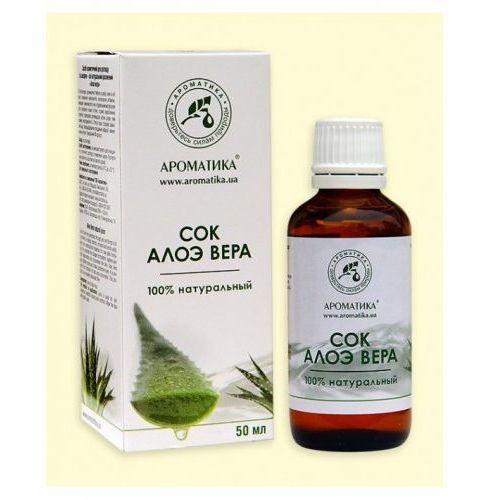 Aromatika Aloe vera sok kosmetyczny 50 ml.