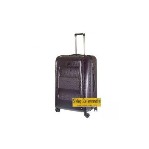 5cd623de3321b Puccini walizka średnia z kolekcji new york pc017 twarda 4 koła materiał  policarbon zamek szyfrowy z