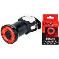 Lampa tylna /akumulator/ PROX OCTANUS mini 30lm SENSOR LED USB na sztycę / pod siodło