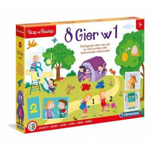 Clementoni Zestaw gier edukacyjny zestaw 8w1 (8005125500895)