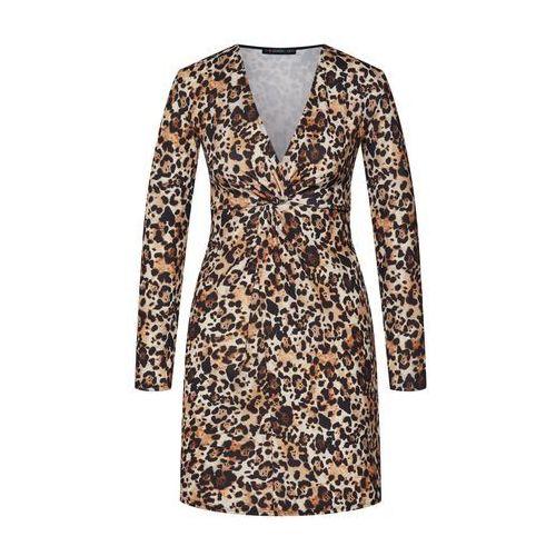sukienka brązowy, Even&odd, 34-42