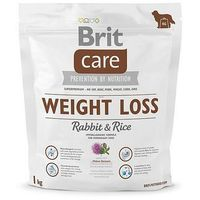 Brit Care New Weight Loss Rabbit & Rice 1kg (8595602510344)
