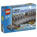 Lego city pociąg elastyczne tory