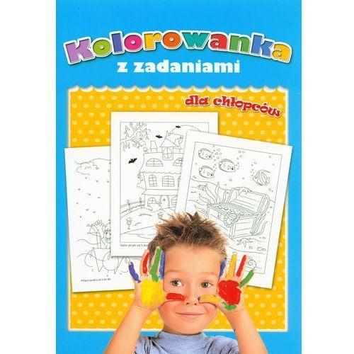 Kolorowanka z zadaniami dla chłopców - marki Praca zbiorowa