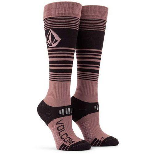 Volcom Skarpetki - tundra tech sock rose wood (ros) rozmiar: m/l