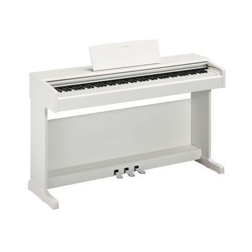 Yamaha ydp 144 white arius pianino cyfrowe, kolor biały