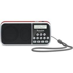 Radio TECHNISAT Techniradio RDR 0000/3922 Czerwono-czarny