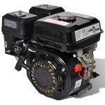 vidaXL Czarny silnik benzynowy 4,8 kW