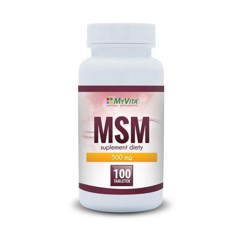 MSM 500mg (MyVita) 100 tabl