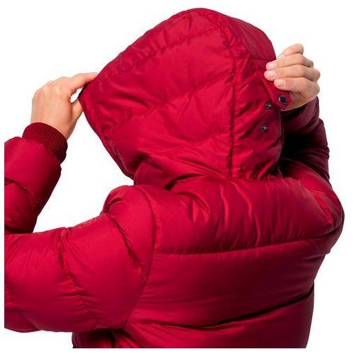 Jack Wolfskin Kurtka puchowa Crystal Palace Kurtki damskie czerwone w