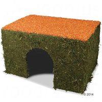 JR Farm domek z siana i marchwi, dla gryzoni - Duży, 650 g| -5% Rabat dla nowych klientów| DARMOWA Dostawa od 99 zł