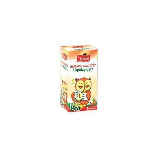 Apotheke (herbatki dla dzieci, dorosłych, błonnik Herbata dla dzieci uspokajająca bio 20x1,5g apotheke