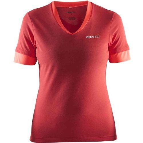 Craft koszulka rowerowa escape w red m