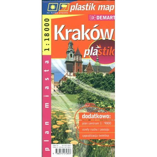 Plan miasta Kraków(plastik)
