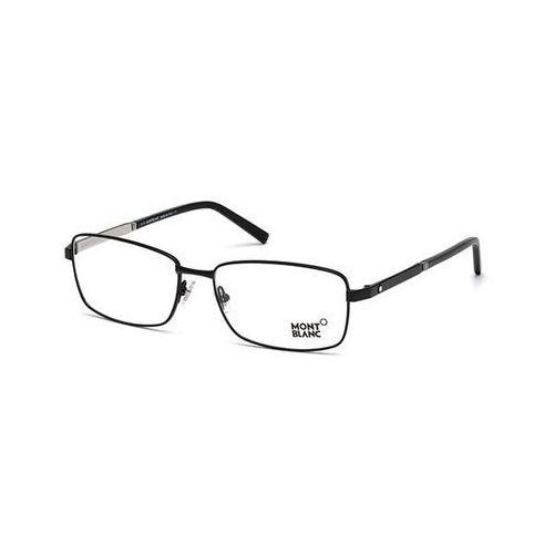 Okulary korekcyjne mb0633 001 Mont blanc