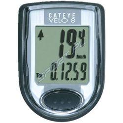 Cateye Licznik rowerowy velo 8 cc-vl810 czarny