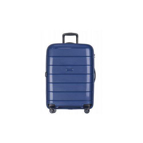 walizka średnia twarda z kolekcji madagascar madagaskar pp013 4 koła zamek szyfrowy tsa materiał polipropylen marki Puccini