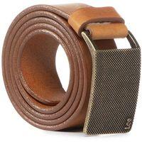 Pasek Męski LEE - Buckle Belt LS315080 Dark Cognac