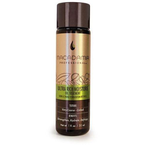 Macadamia Ultra Rich Moisture Oil Treatment | Nawilżający olejek do włosów grubych i suchych 30ml