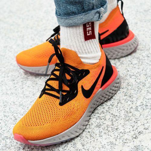 Buty sportowe damskie wmns epic react flyknit (aq0070-800) marki Nike