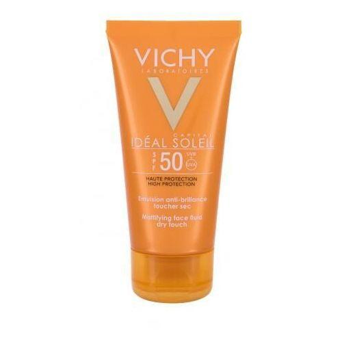 Idéal soleil mattifying face fluid spf50 preparat do opalania twarzy 50 ml dla kobiet Vichy - Bombowy rabat