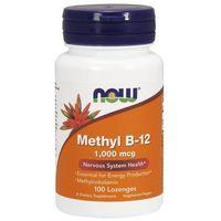 Witaminy NOW Foods Methyl B-12 1000mcg 100 lozegnes Najlepszy produkt