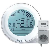Programowany, bezprzewodowy, regulator temperatury q7txrxgw marki Euroster