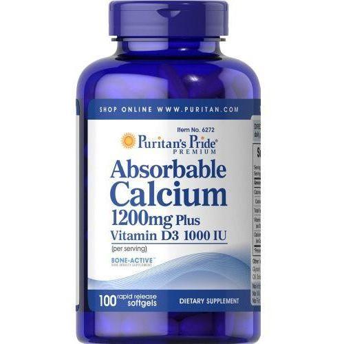 Przyswajalny Wapń 1200 mg / 100 kaps PURITAN'S PRIDE