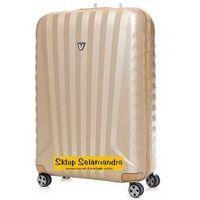 Roncato walizka średnia z kolekcji uno sl super light 4 koła materiał polipropylen zamek szyfrowy tsa